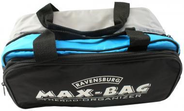 Max-Bag silber/blau