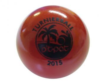 Pit Pat Turnierball rot 2015