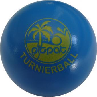 Pit Pat Turnierball blau