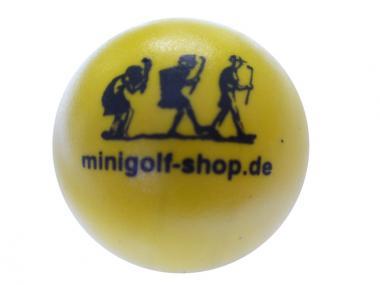 Hobbyball weich 95 gelb