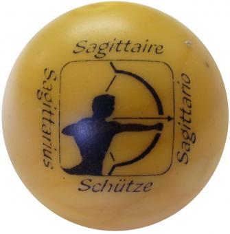 Sternzeichenball gelb